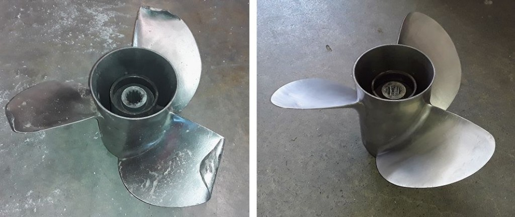 Before and After Prop Rebuild